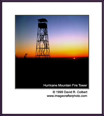 Adirondack Photography - Hurricane Fire Tower